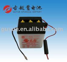 Motorbike Battery 6N4-2A-4 6V4AH Motorcycle Lead Acid Starter Battery