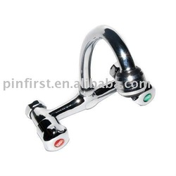 New Durable Wholesale Silver Copper Kitchen Home Water Faucet Tap