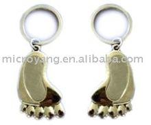 Little Feet shape metal usb flash drive pen drive usb flash stick thumb stick memory usb key