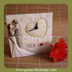 Polyresin Alarm Clock of Wedding