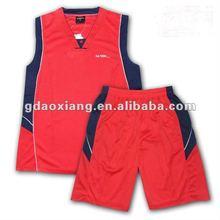 2012 men's blank basketball jersey/basketball uniform/basket wear