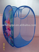 foldind and mesh pop up laundry basket make your life easier