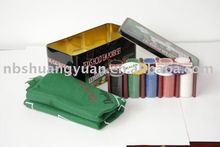 200pcs Texas Holdem Poker Set in Tin Case