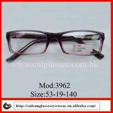 hot seling casual fashion plastic designer eyeglasses 2012