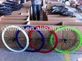 700c fijo del engranaje de la rueda de la bicicleta conjunto ruedas 700c llanta de bicicleta