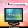 15 inch Digital Touch screen Monitor with HDMI/TV/AV input