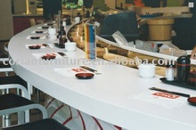 BTP-034 Corian acrylic solid surface made bar counter/table