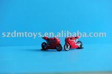custom plastic racing motorcycle toy model