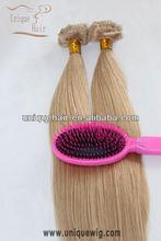 100% Malaysian virgin human hair clip in