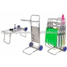 Beach cart and table hand trolley BEACH CART