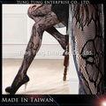 Taiwan fábrica de hibisco mallas baratos mujeres medias