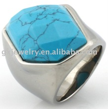 Unisex rings natural gemstone ring