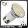 60 smd 3528 led light E27 120V/230V