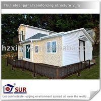 EPS prefabricated beach villa