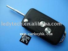 Peugeot 2 buttons remote flip key blank&key cover&key case, car key