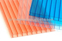 Sound and heat insulation polycarbonate transparent roof panel