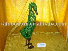 lovely decoration weaving duck