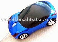mini car shape adjustable DPI mouse
