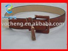 2012 leather belt. tan leather belt