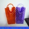 Fashional Transparent Wine Bags with zipper closure xmxdj-J0356