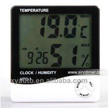Temperature Humidity Clock Meter