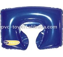 PVC folding neck pillow