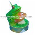 dekorativen frosch paraffin kerze teelicht