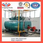 Diesel oil/ natural gas fired hot water boiler