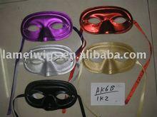 KWH-0434 Plastic Party masks/ Masquerade masks/Sequin masks
