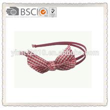 2014 fashion cute ribbon bow plastic Alice band