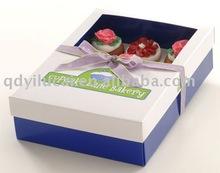 matt cupcake box packaging