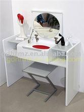 high gloss modern dresser with mirror