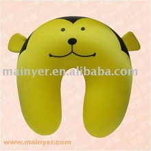 Microbead Animal shaped Kids neck pillow