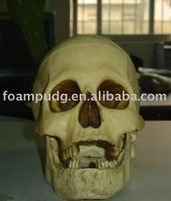 beautiful Halloween pu foam skull