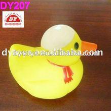 mini plastic figure ,PVC duck bath toy, PVC soft toy