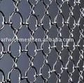 decorativos de metal cortina de anillos
