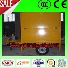 Transformer Oil Filter Equipped with Car Tire for Long Distance Move