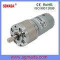Planeta dc motor eléctrico/máquina de corriente continua