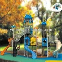 Outdoor plastic amusement playground for children