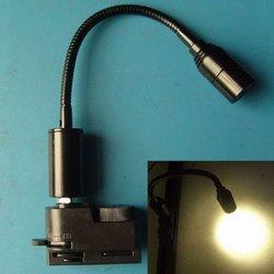 1w led track mounted snake flexible pipe spot light