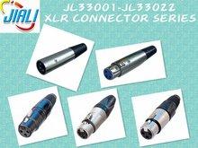 XLR CONNECTOR 3 POLE