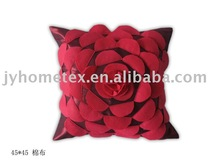 3D design embroidered cushion