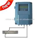 fixed ultrasonic flow meter (clamp on) water velocity sensor