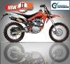 2015 Hot Sell Bashan125cc mini dirt bike new design BS125-46A
