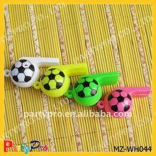hot sale colorful plastic fan whistle
