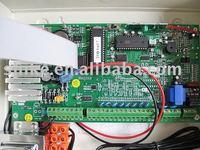 High quality intelligent wireless burglar alarm system with 8 wired+8 wireless zones