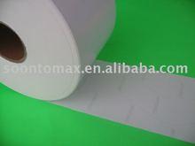 self adhesive matte coated paper + 62g blue glassine liner