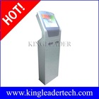 Self-service ticketing kiosk with note acceptor,thermal printer and camera