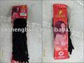 Afro braid extensão do cabelo da fibra