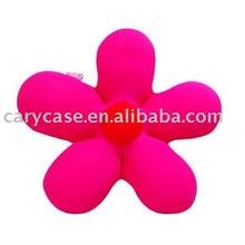 Fashionable flower design neck pillow cushion